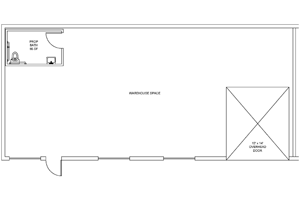 Example: Warehouse & Restroom Floorplan
